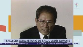 Murió Jesús Kumate, exsecretario de Salud