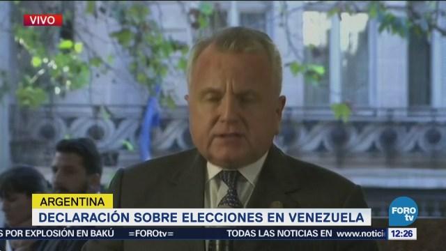 Naciones de América exigen a Maduro retomar curso democrático de Venezuela