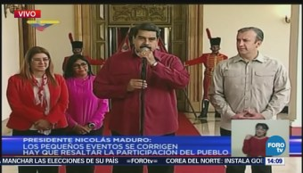 Nicolás Maduro pide a venezolanos salir a votar