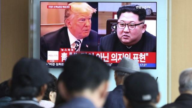 Norcorea amenaza cancelar cumbre Kim Trump ejercicios militares