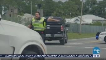 Policía Florida Responde Presunto Tiroteo Localidad Panama City
