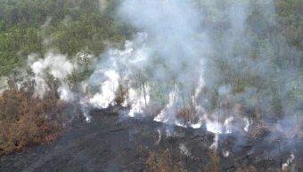 Nuevos sismos sacuden zona volcán Kilauea Hawai