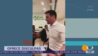 Ofrece disculpas abogado que discriminó a hispanas