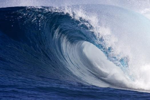 Registra Ola alta jamás registrada vista Nueva Zelanda