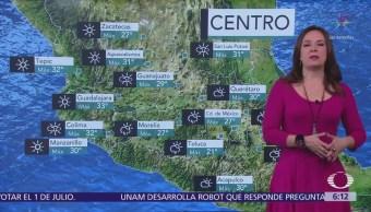 Onda de calor y lluvias dominarán gran parte de México