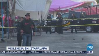 Operativo por violencia en Iztapalapa