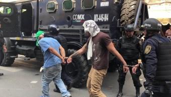 Operativos en la Buenos Aires y Tepito dejan al menos 18 detenidos