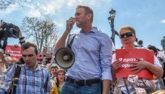 opositor ruso navalni es puesto libertad horas arresto