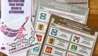INE envía paquetes para que voten ciudadanos en extranjero
