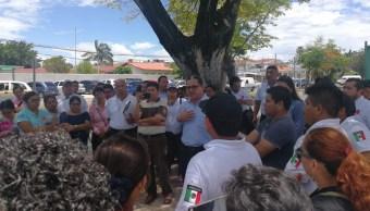 Agentes ministeriales realizan paro de labores en Quintana Roo