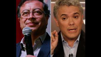 duque petro segunda vuelta colombia elecciones