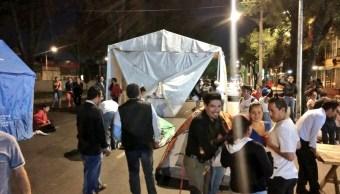 Damnificados del 19S retiran bloqueo en Tlalpan