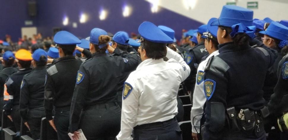 sspcdmx firma contratos millonarios uniformes que no llegan policias