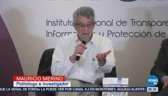Presentan Ensayo Opacidad Corrupción Huellas Captura