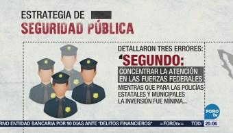 Presentan Estrategia Seguridad Pública Proteger Ciudadanía