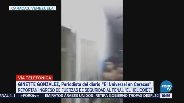 Presos políticos detenidos en El Helicoide