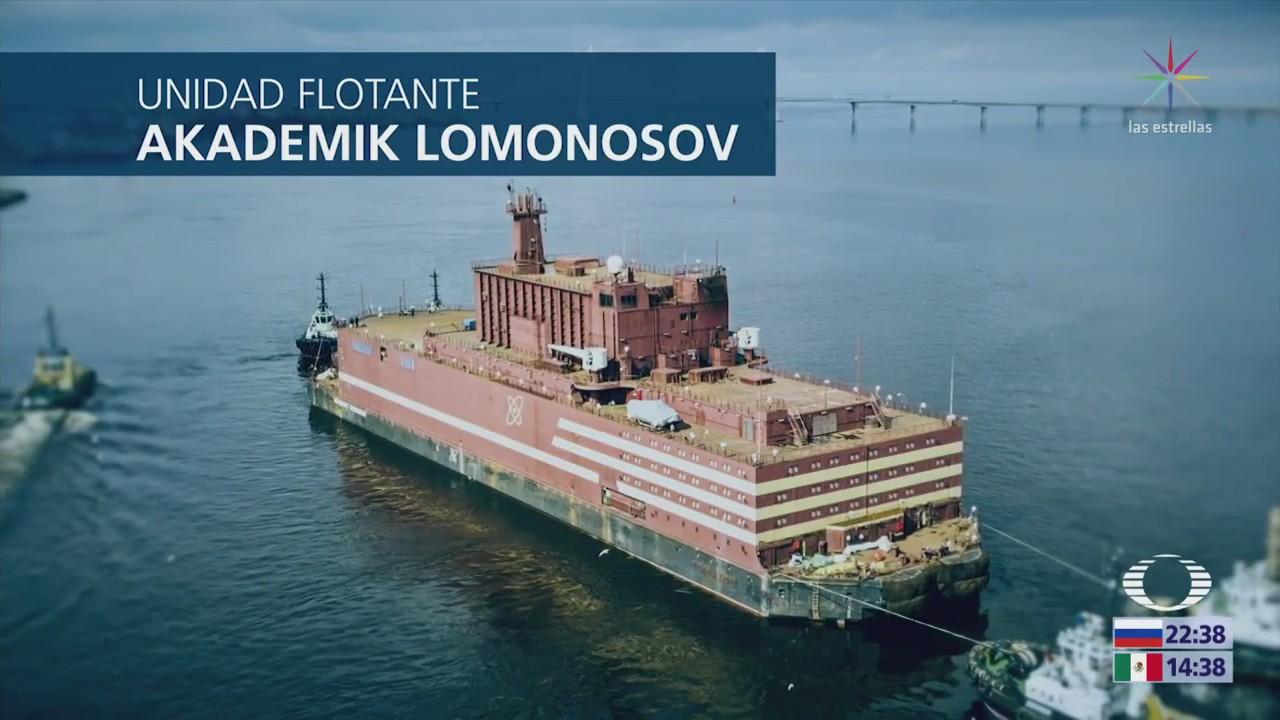 Primera planta nuclear flotante