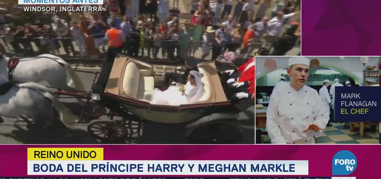 Príncipe Enrique Meghan Markle Realizan Recorrido Carruaje