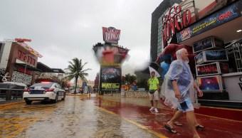 Quintana Roo mantiene alerta amarilla por tormenta Alberto
