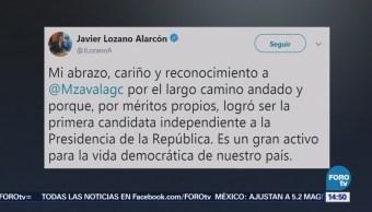 Margarita Zavala toma decisión congruente