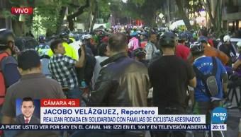 Realizan Rodada Asesinato Ciclistas Europeos Chiapas
