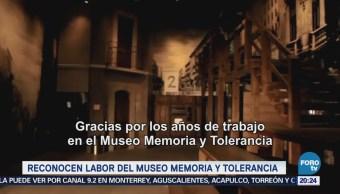 Reconocen Museo Memoria Tolerancia Human Rights Campaign