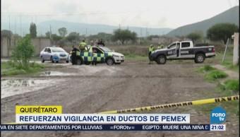 Refuerzan Vigilancia Contra Robo Combustible Querétaro