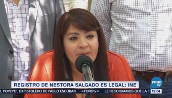 Registro Nestora Salgado Legal Lorenzo Córdova