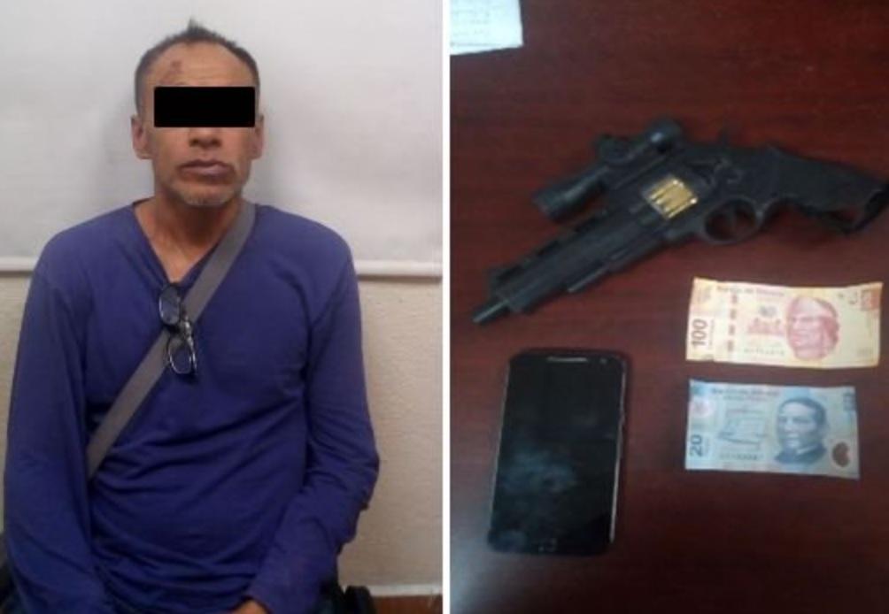Pasajeros de autobús detienen a ladrón reincidente en San Jerónimo
