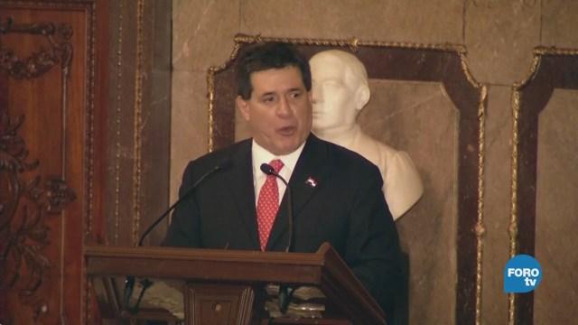 Renuncia el presidente de Paraguay y