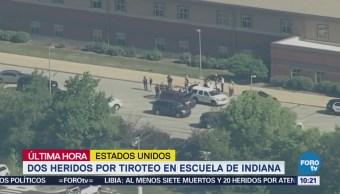 Reportan dos heridos por tiroteo en