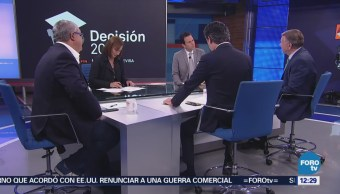 Representantes de los candidatos presidenciales participan en mesa de análisis con Carlos Loret