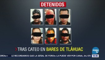Rescatan 14 Mujeres Tras Cateo Bares Tláhuac