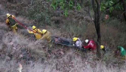 Rescatan a hombre extraviado en el Bosque de la Primavera