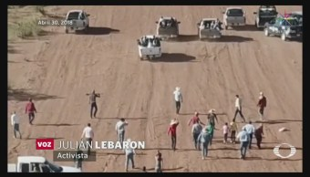 Revelan Video Ataque Rancho Familia Lebarón