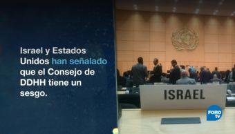 Revés Estados Unidos ONU Consejo Derechos Humanos