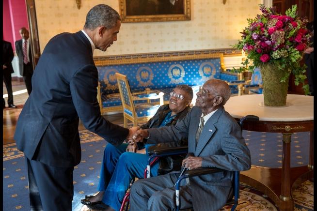 Hombre más longevo de Estados Unidos