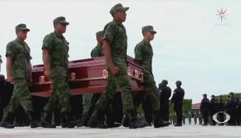 Rinden Homenaje Militares Emboscados Guerrero Abel Montufar