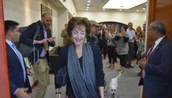 La embajadora de Estados Unidos Roberta Jacobson se despide de México