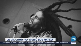 Efeméride En Una Hora Bob Marley Muerte
