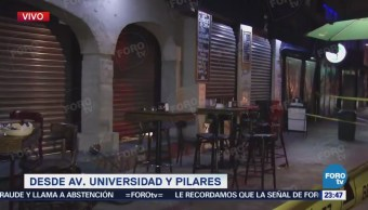 Se registra balacera en Universidad y Pilares