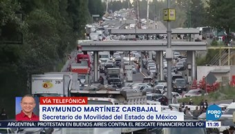 Secretaría de Movilidad del Edomex instalará mesa de diálogo con transportistas