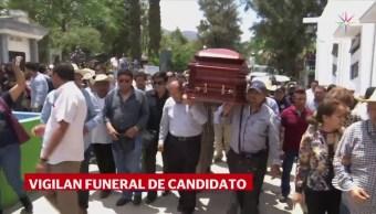 Sepultan Candidato PRI Asesinado Guerrero Abel Montufar