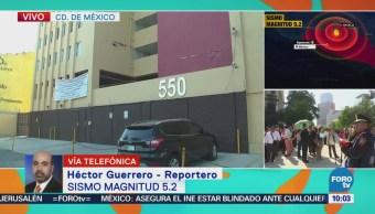 Sin afectaciones en las colonias Del Valle y Portales luego del sismo de 5.2