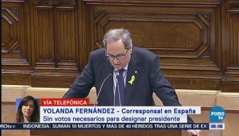 Sin Votos Necesarios Designar Presidente Cataluña