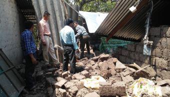 Más de 70 viviendas dañadas por enjambre sísmico en 2 municipios salvadoreños