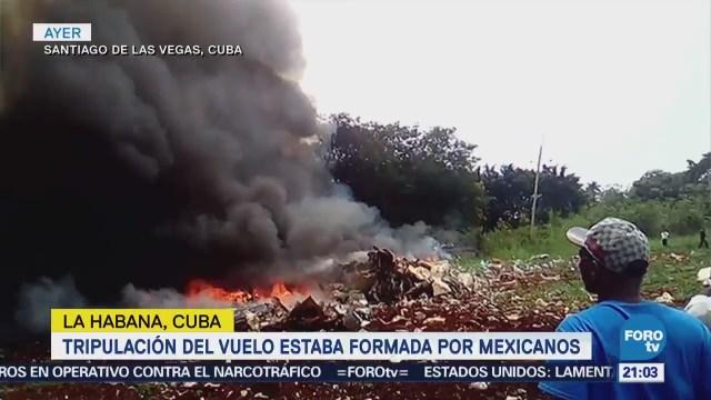 Suman 110 Muertos Tragedia Aérea La Habana Cuba