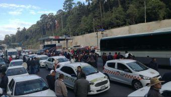 transportistas estado mexico bloquean accesos cdmx durante 12 horas