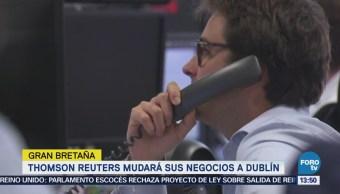 Thomson Reuters Mudará Negocios Dublín