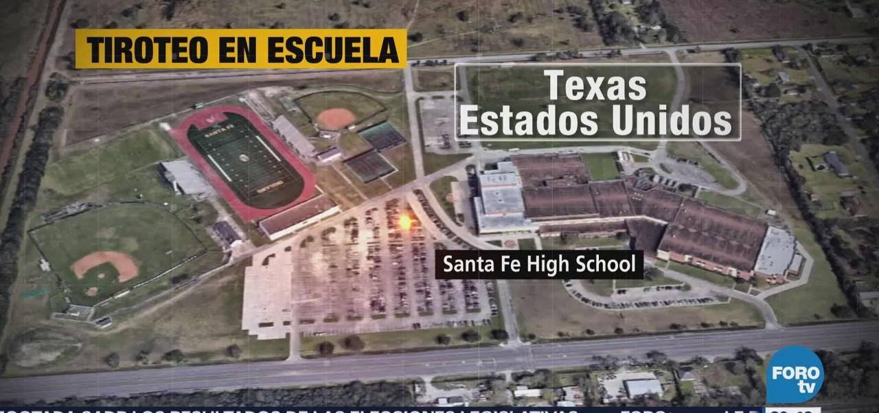 Tiroteo Escuela Secundaria Texas Estados Unidos